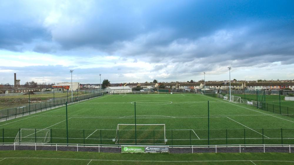 Artificial grass pitch at Cherry Orchard FC - PST Sport