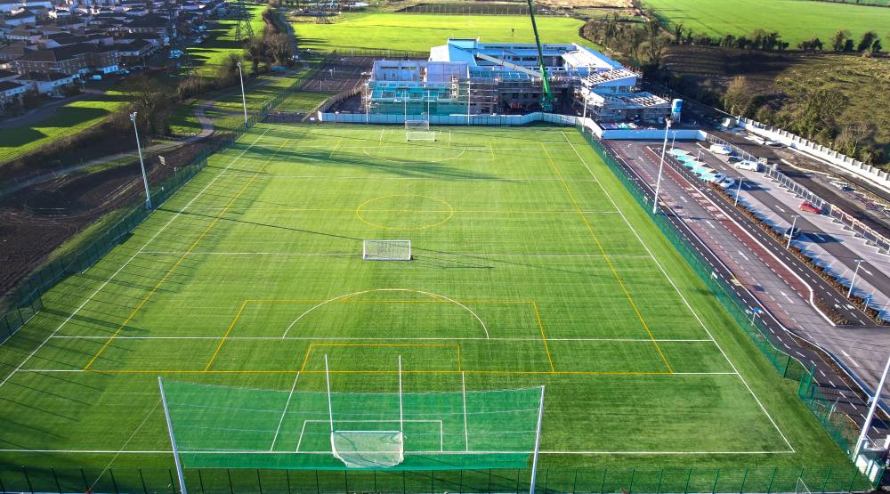 Le Cheile Post Primary School All Weather Pitch