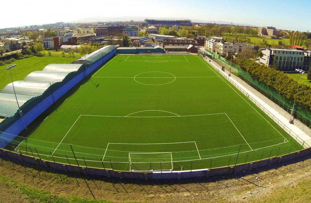 Artificial grass review for Stella Maris FC