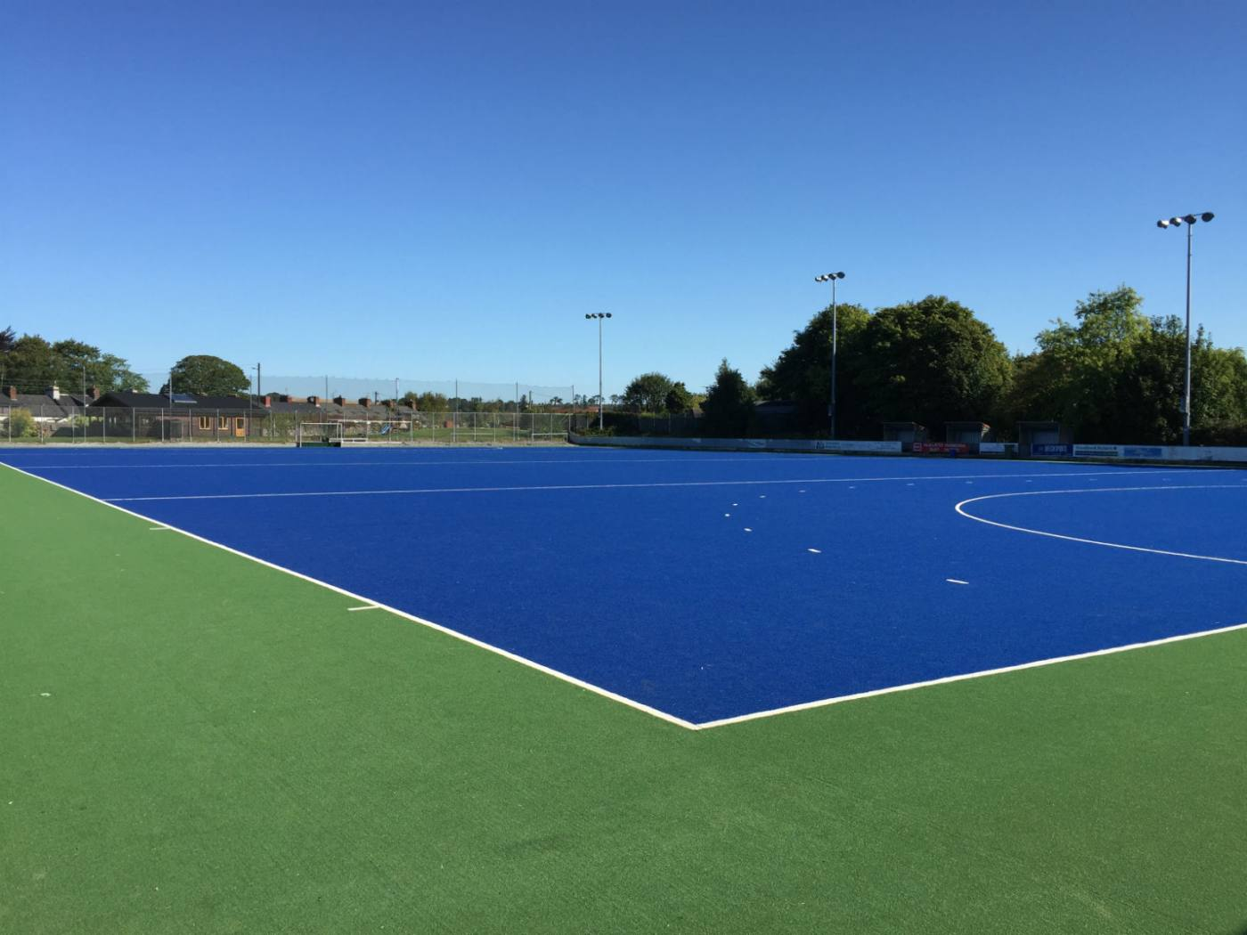 Artificial grass hockey pitch at Midleton College, Cork