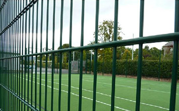 Fencing options for artificial grass installation - PST Sport
