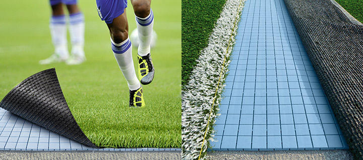 PST Sport shock pads - shock absorbing layer for astro turf pitches