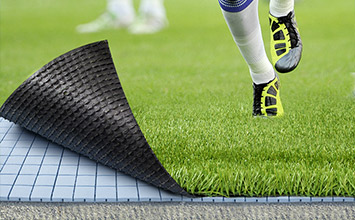 Shock pad for artificial grass installation - PST Sport