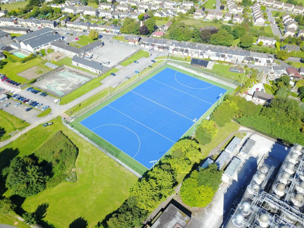 Artificial grass hockey pitch at Midleton College Cork