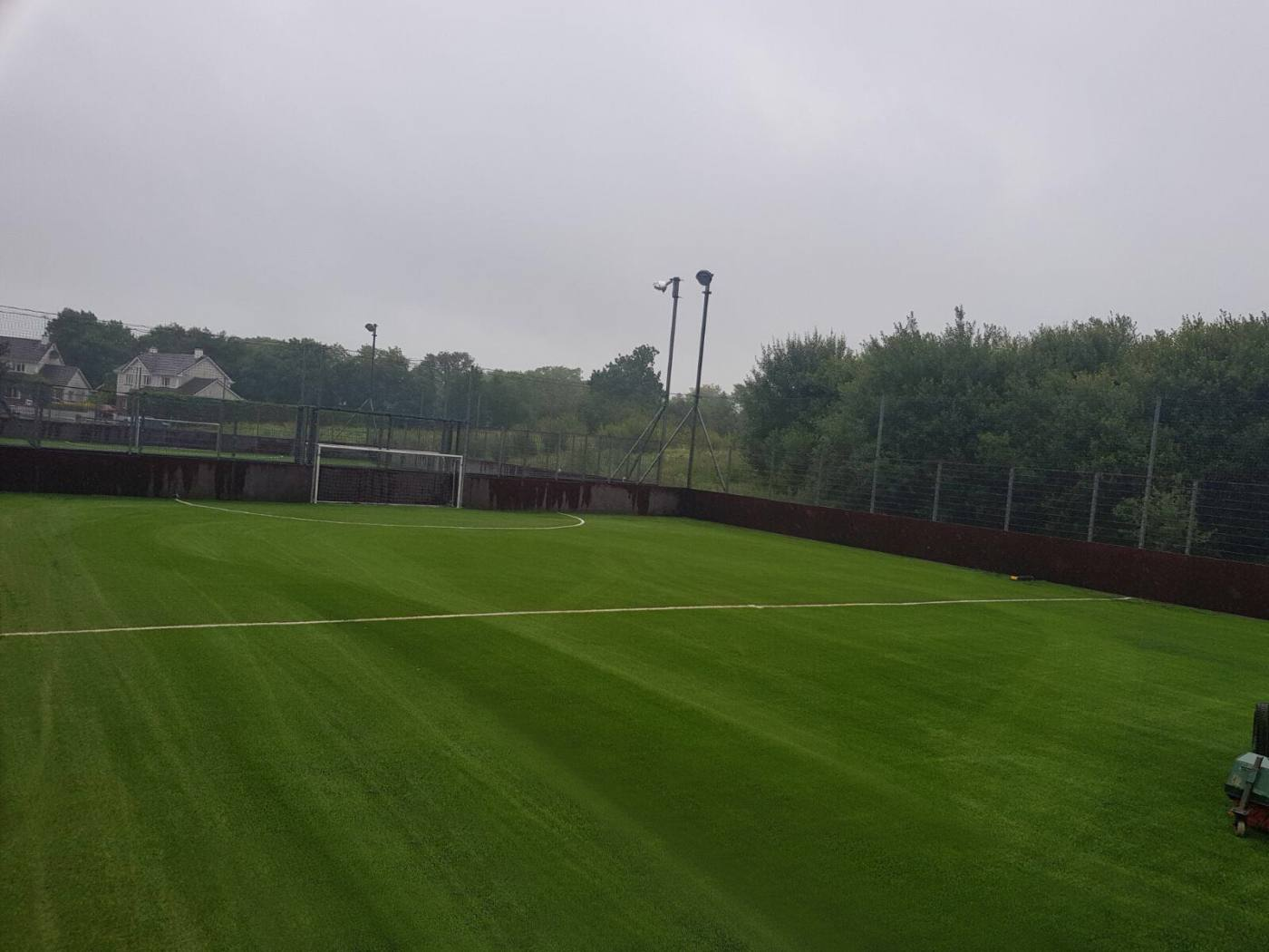 Astroturf pitch at Aura Leisure Centre, Co Leitrim