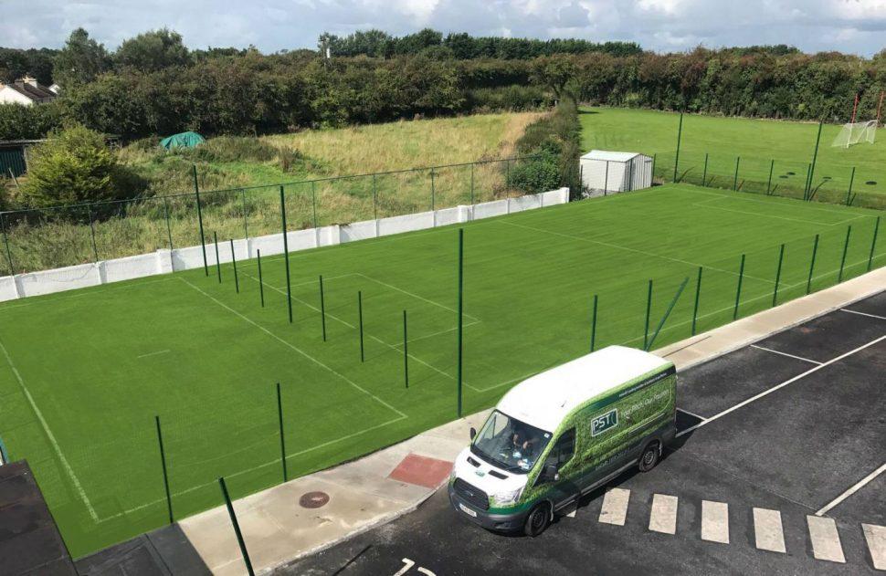 Artificial grass pitch at Killeen National School