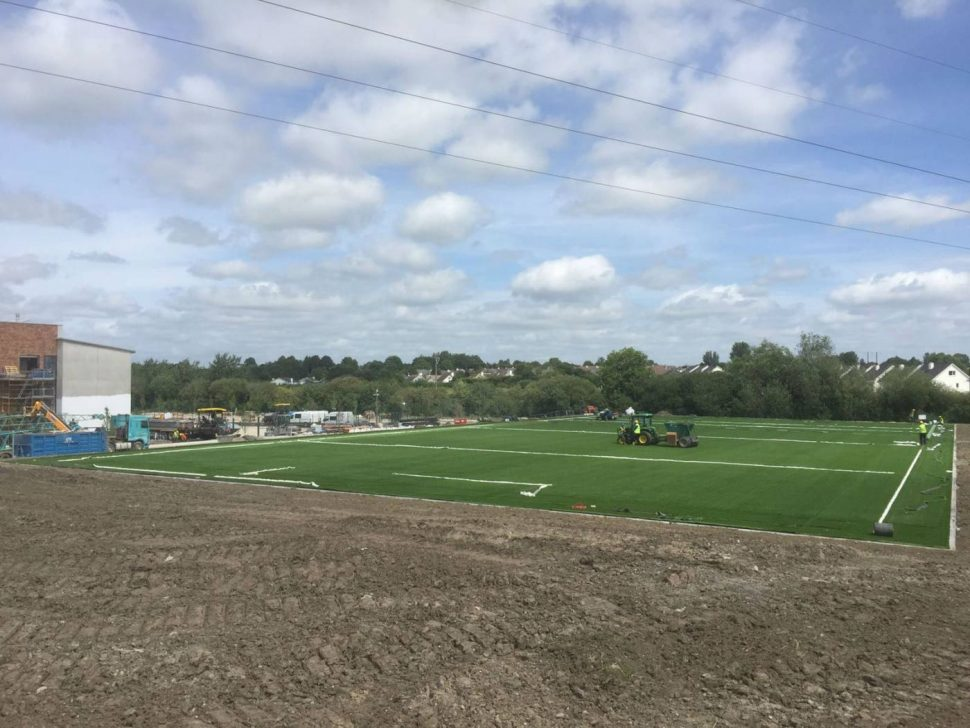 Artificial grass pitch for PST Sport parish schools