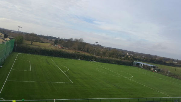 Ballyoulster United FC astro turf pitch by PST Sport