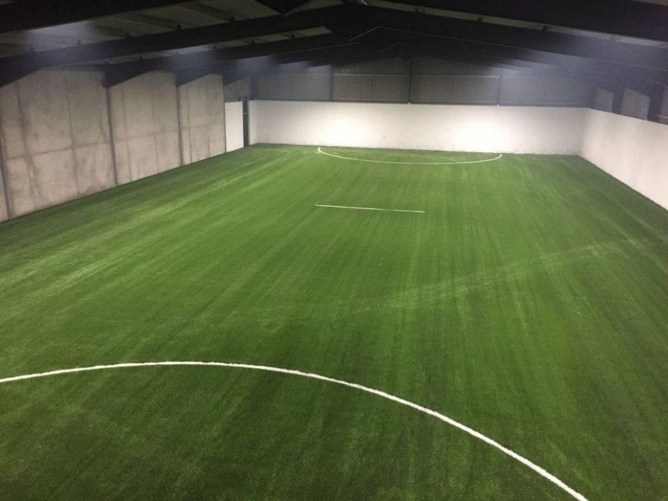 Broadford GAA indoor artificial grass training pitch