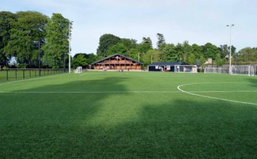 Astro turf pitch at Cahir Park AFC