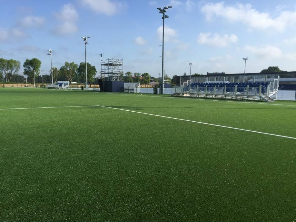 Artificial grass pitch at Chelsea FC - installed by PST Sport