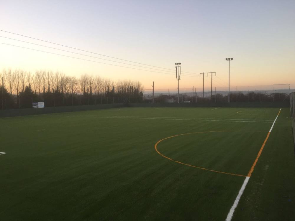 Artificial grass pitch at College Corinthians FC, Co Cork