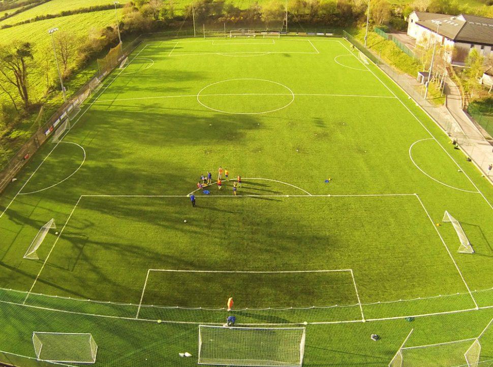 Grass carpet 3G pitch at ISK Killorglin