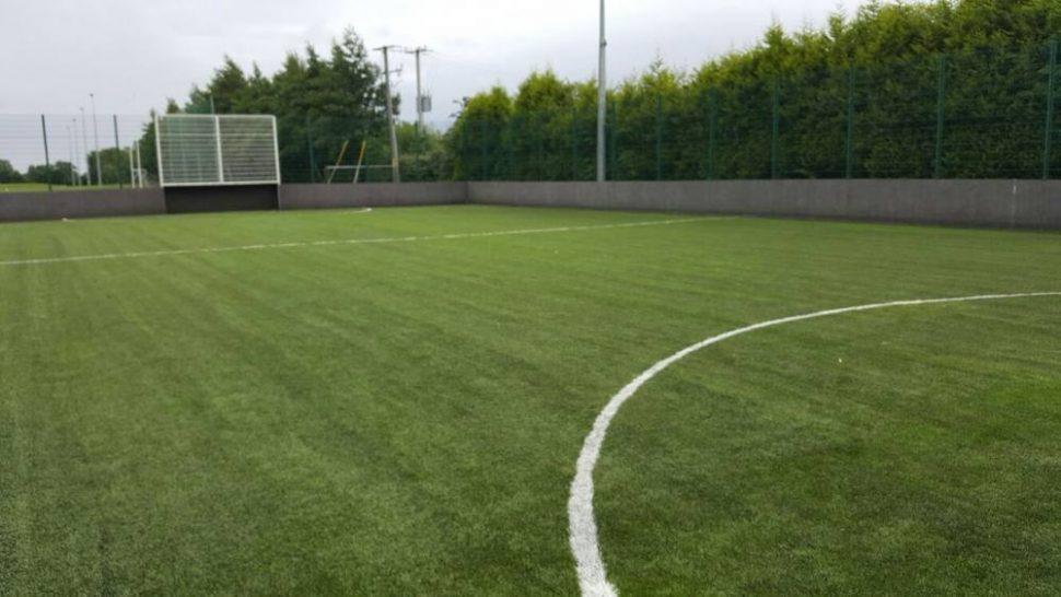 PST Sport artificial grass pitch at St Fechins GAA