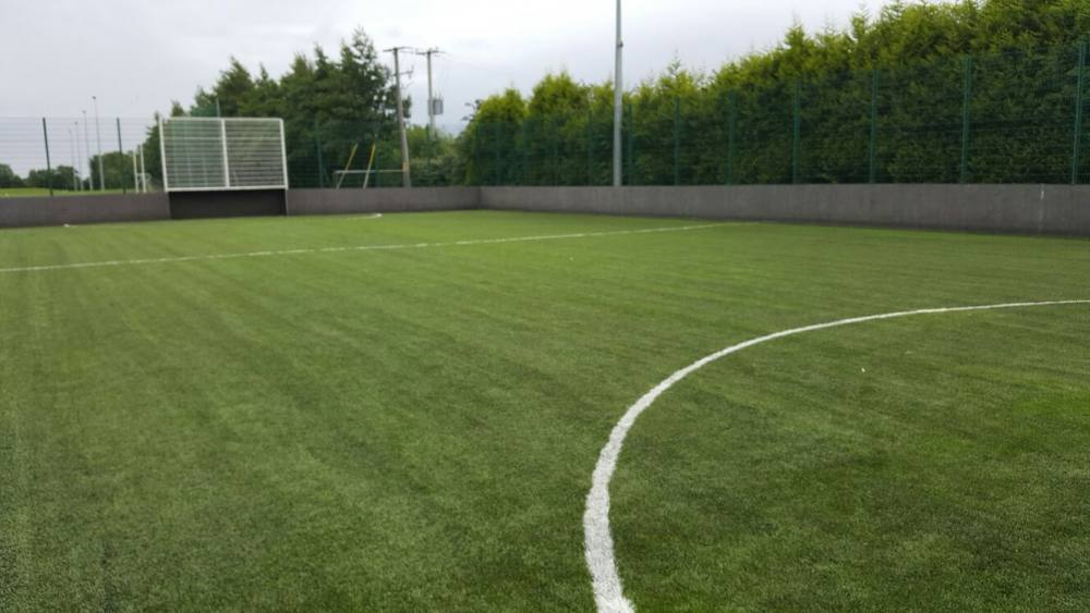 Artificial grass GAA pitch - Fechins GAA