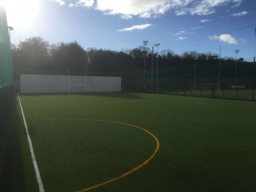 PST Sport all weather pitch at Doheny GAA Club Cork