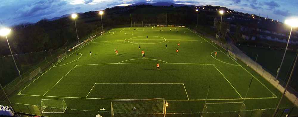 Floodlights for pitch at Intermediate School Killorglin