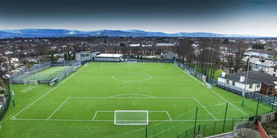 PST Sport artificial grass pitch at Larkview Boys FC