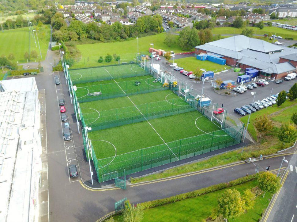 artificial grass pitch at LeisureWorld Bishopstown