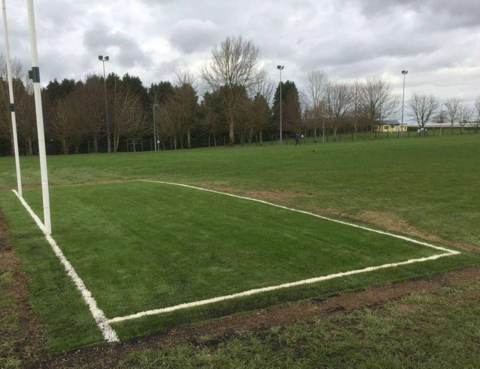 Artificial grass goalmouths at Milstreet GAA - PST Sport