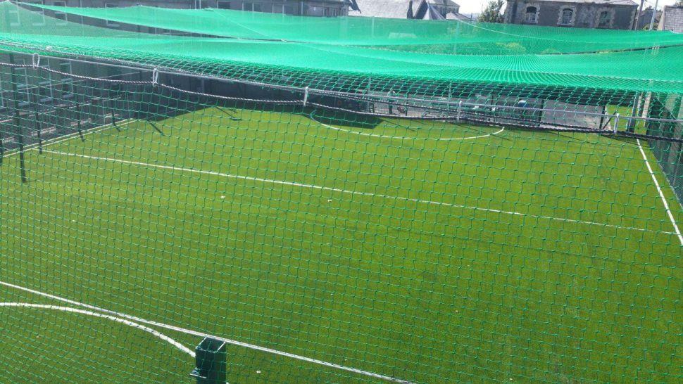 Artificial grass installation project at Mount Sion Primary School