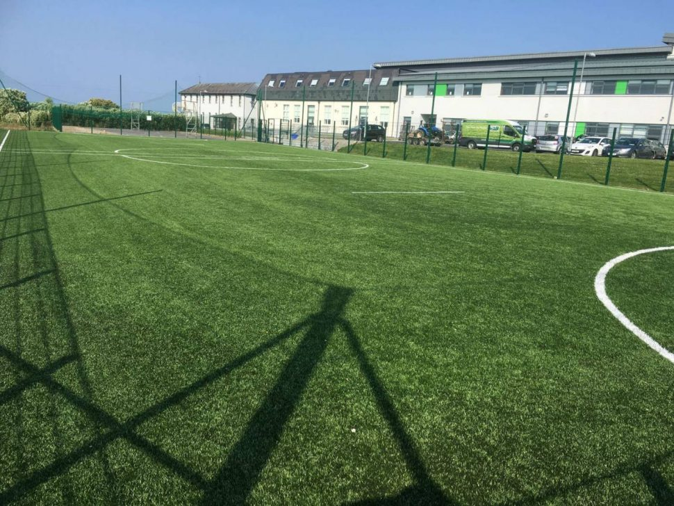 Artificial grass pitch at Our Ladys Secondary School Belmullet - PST Sport