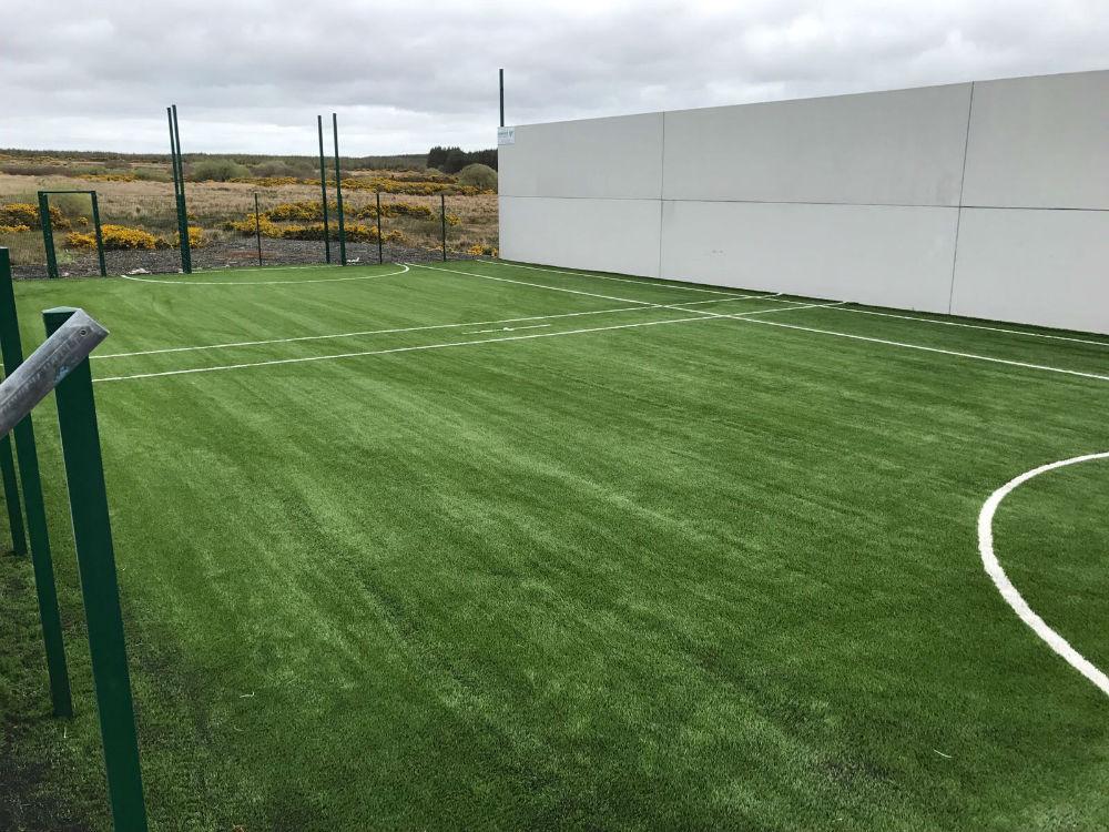 Kilmihill GAA artificial grass pitch