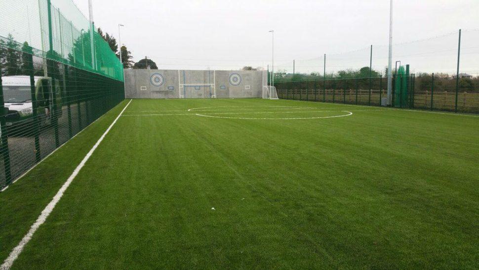 Artificial grass GAA pitch at Skryne GAA