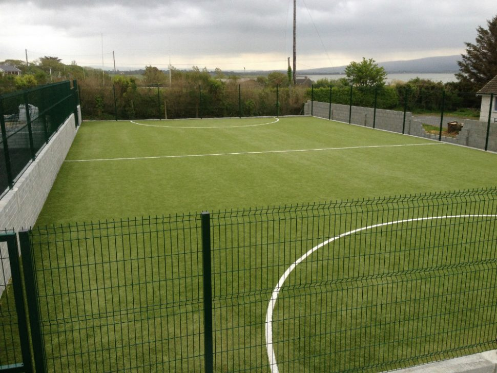 Astro turf pitch at Spa National School, Co Kerry - by PST Sport