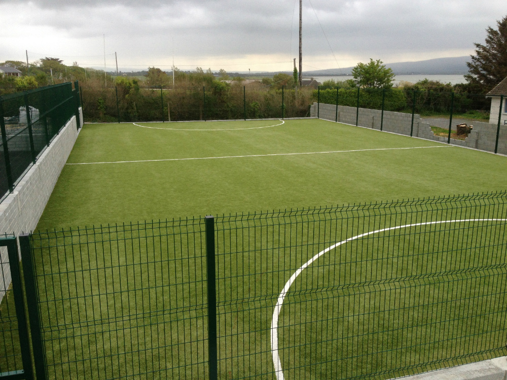 Pitch at Spa National School, Co Kerry