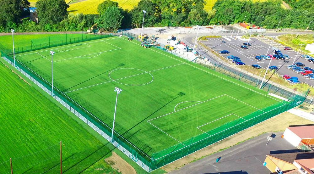 Artificial grass pitch at St Kevins Boys FC