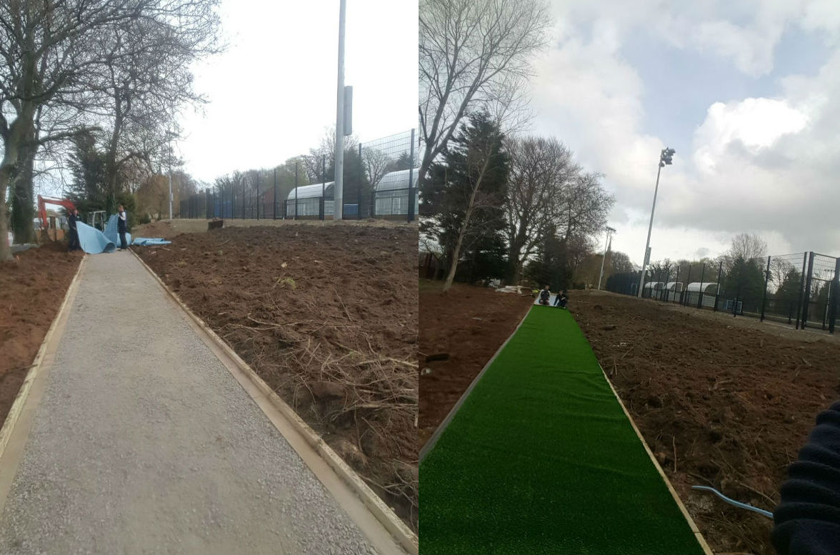 Sullivan Upper artificial grass long jump - PST Sport - artificial grass experts
