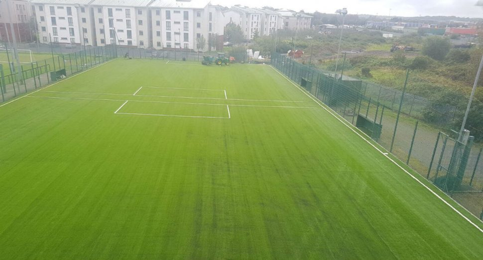 Villa FC artificial grass pitch