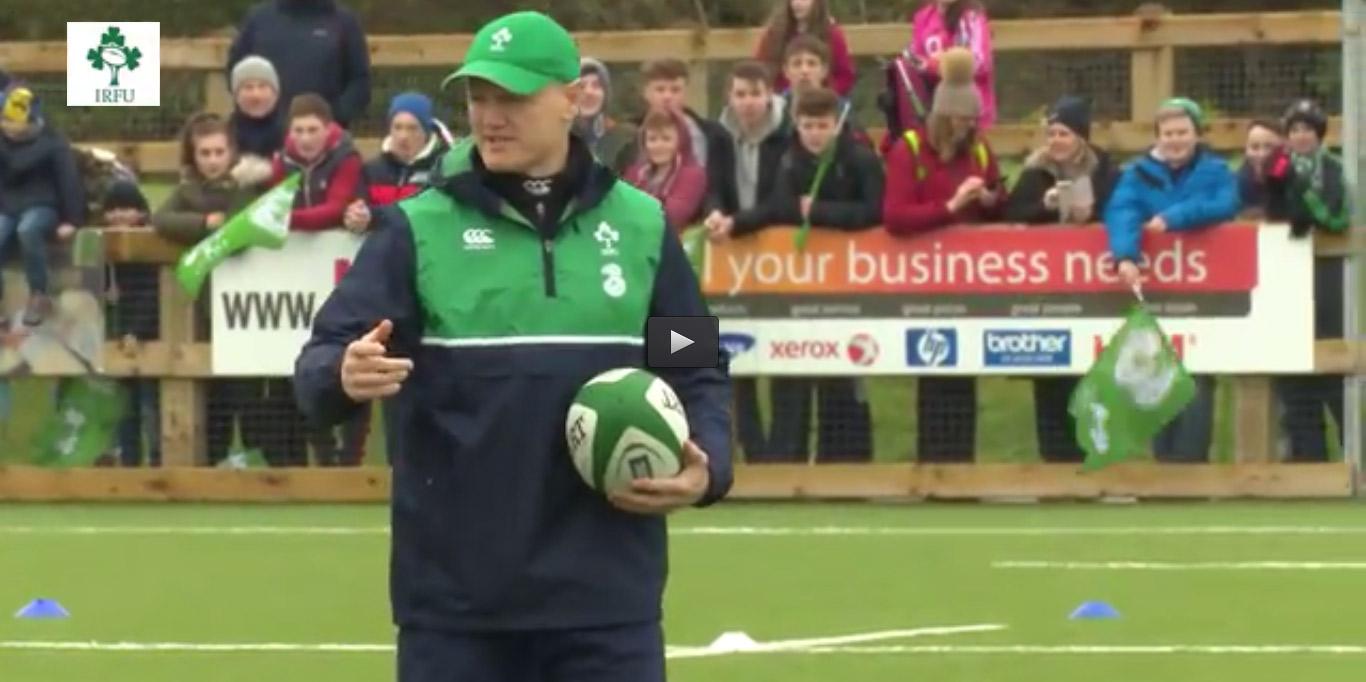 Irish Rugby - Joe Schmidt at Mullingar RFC