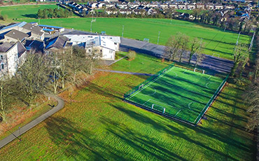 Artificial grass pitch at St Mels College Longford