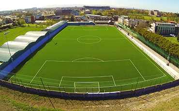 Astro Turf pitch at Stella Maris FC