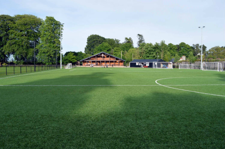 Astro pitch at Cahir Park FC installed by PST Sport