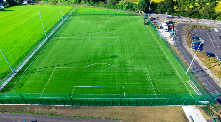 Synthetic Grass Football Pitch at St Kevin's Boys FC