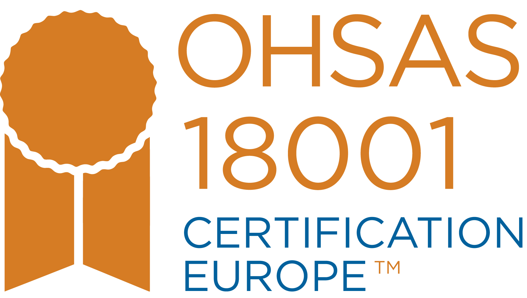 Certification Europe OHAS18001 Health & Safety Certificate for PST Sport