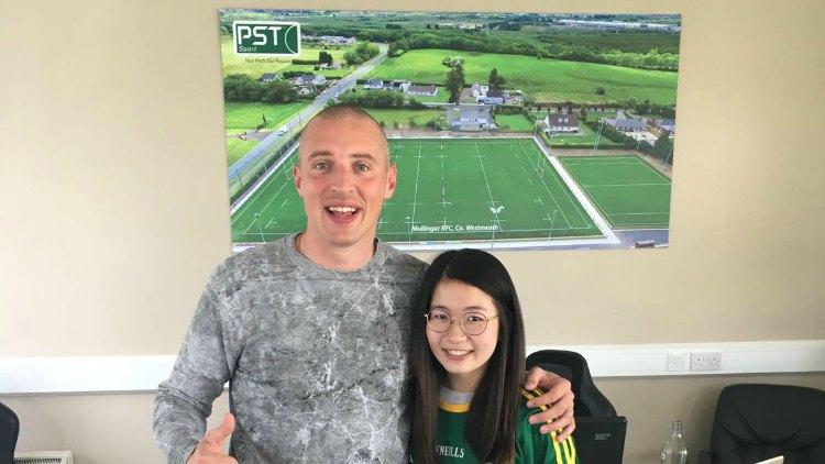 PST Sport's intern Vicky Teh