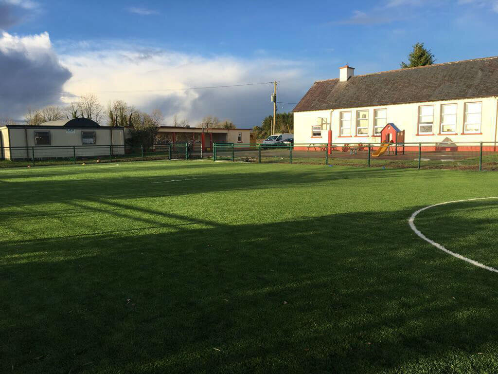 Clooncagh National School astroturf pitch