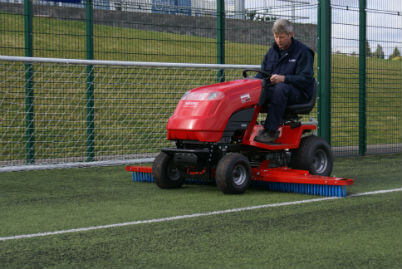 RTC Tractor for astro turf maintenance