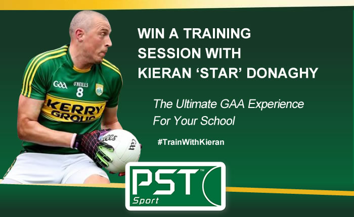 Win a training session for your school with Kieran Donaghy