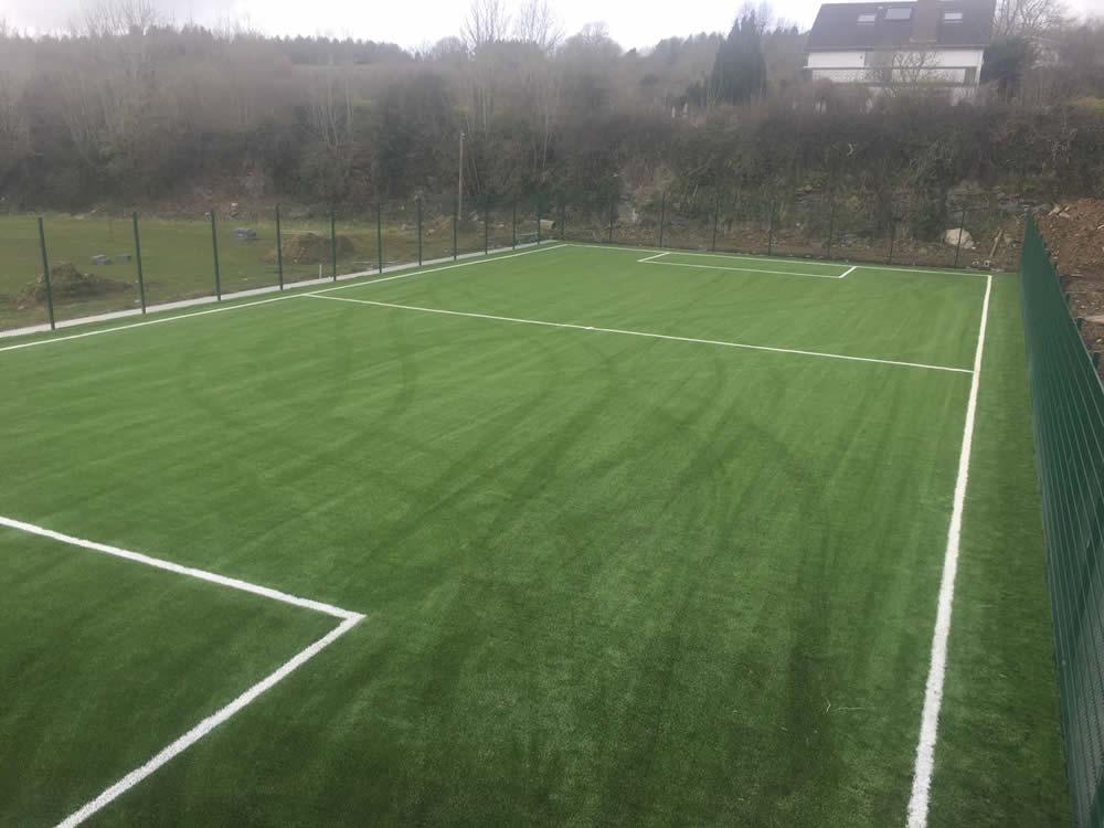 Bunratty Cratloe FC artificial grass installation