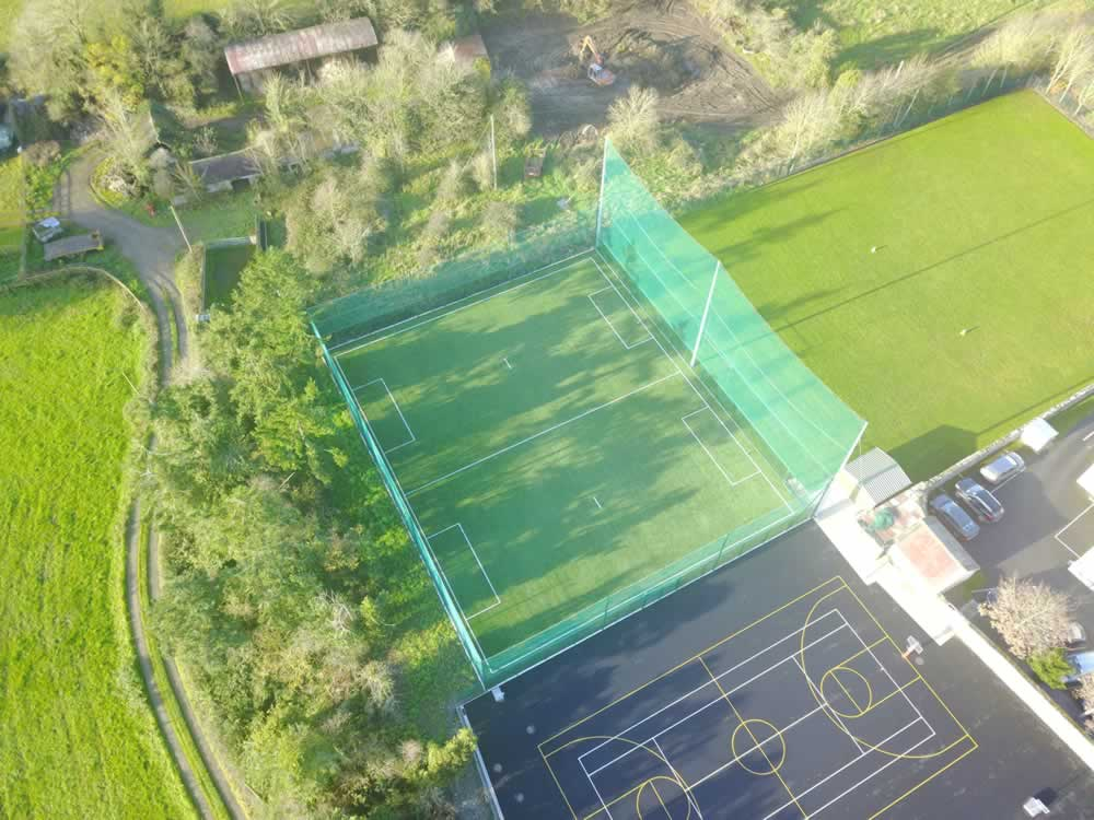 artificial pitch at carrig national school