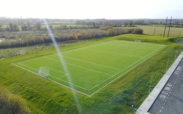 portlaoise parish schools astro turf pitch