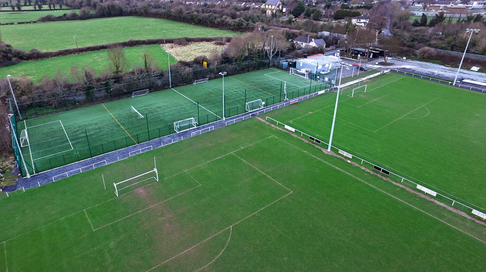 synthetic turf surface at St Mochtas FC