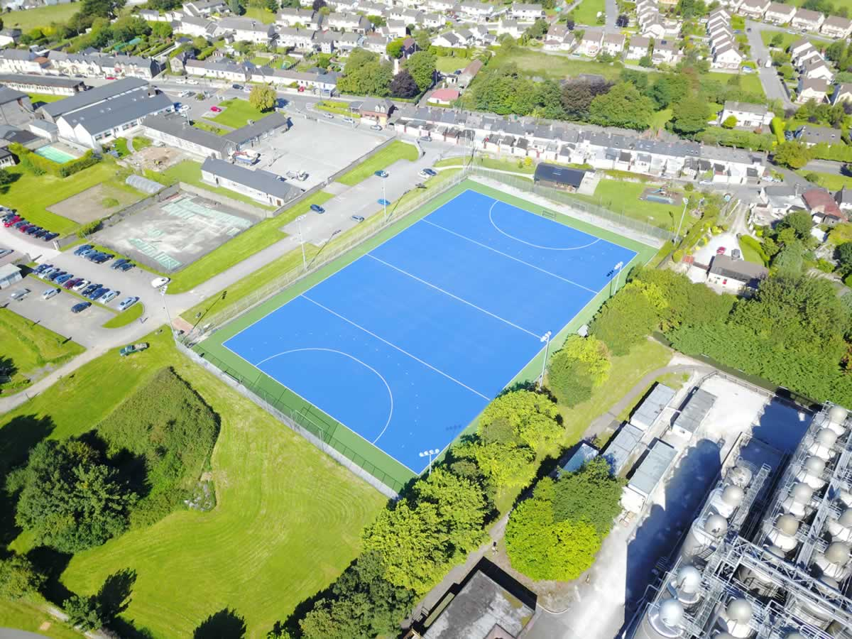 Artificial hockey pitch at Midleton College