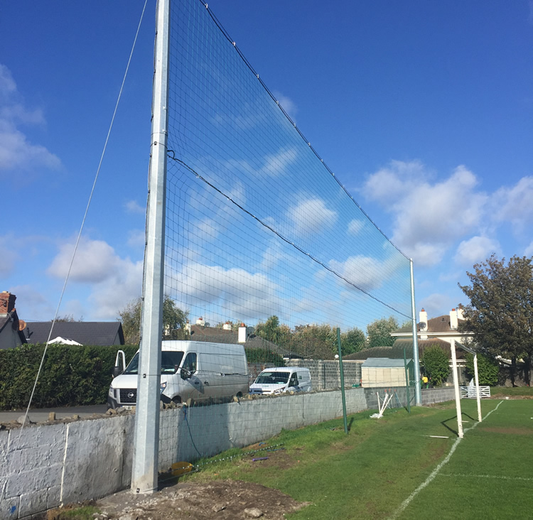 railway union ball stop netting