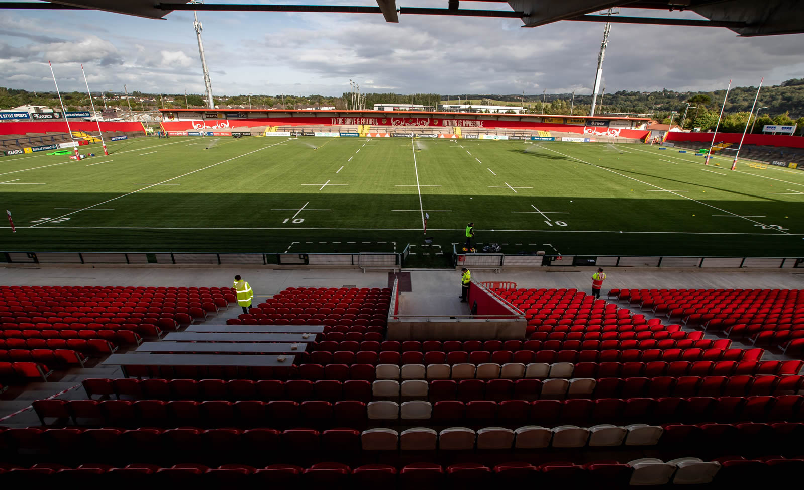 Modified 3G pitch at Irish Independent Park